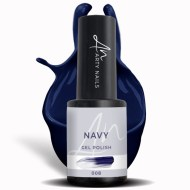 008 navy gel polish